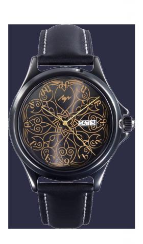 Лимитированные армянские часы Луч А202