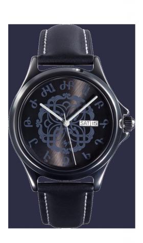 Лимитированные армянские часы Луч А203